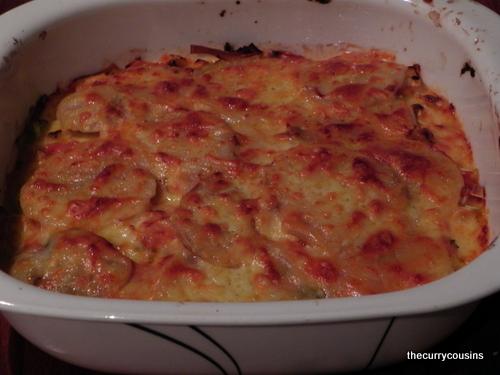 Tomato and Basil Garden Bake