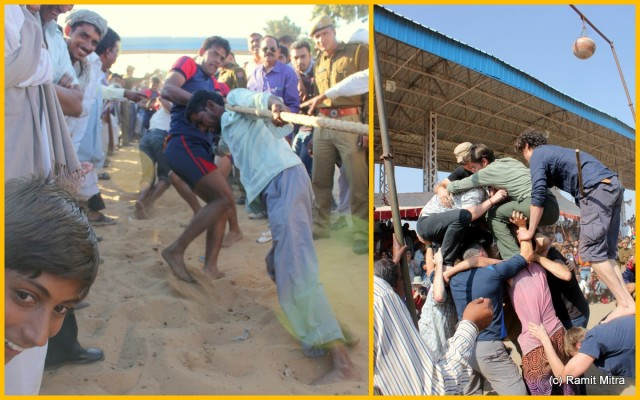 Tug-of-War and Matki Phod competition between Locals & Visitors/Tourists